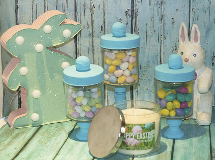 candy jars for easter