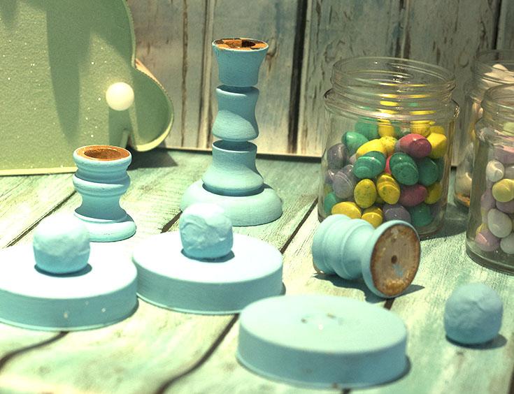 supplies to make the jars
