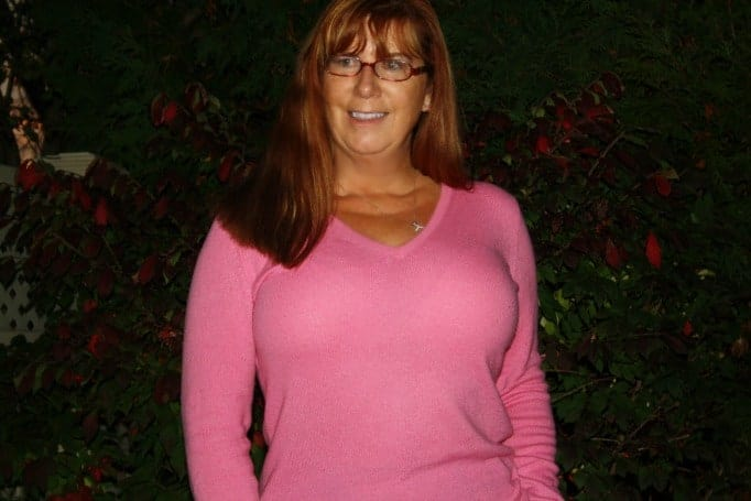 anne taylor pink cashmere sweater