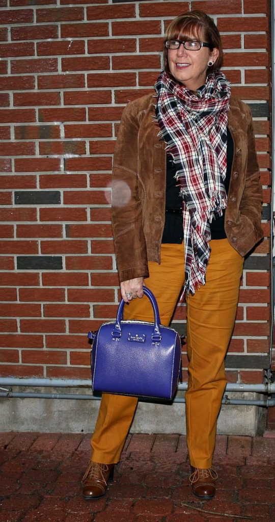 Scarves and purses