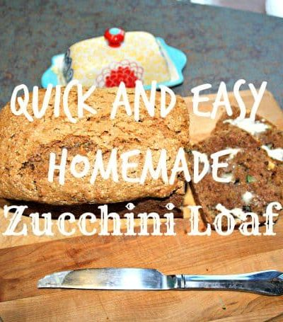 Quick and Easy Zucchini Loaf Recipe