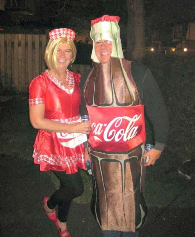 coca cola couple