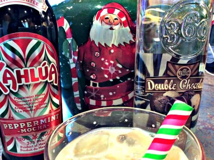 christmas white russian