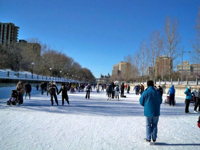 the rideau canal skating rink