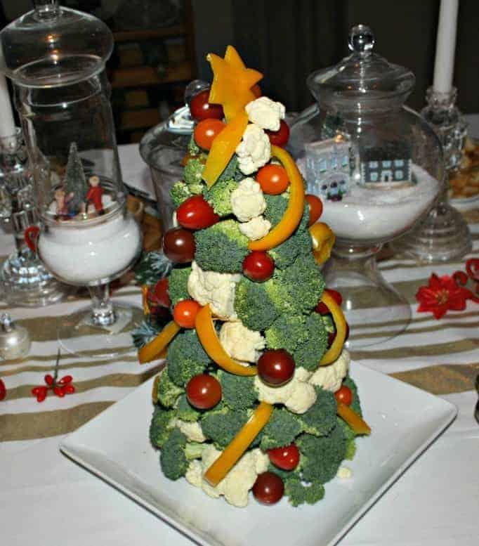 broccoli tree centerpiece