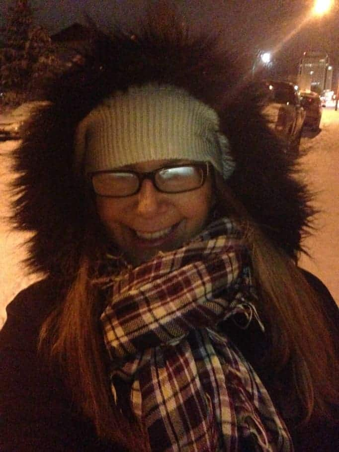 evening stroll in Yellowknife