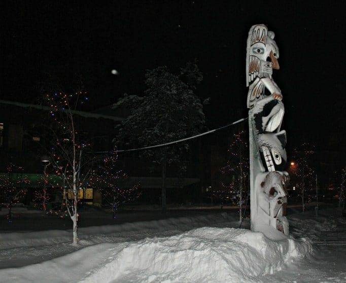 Yellowknife totem