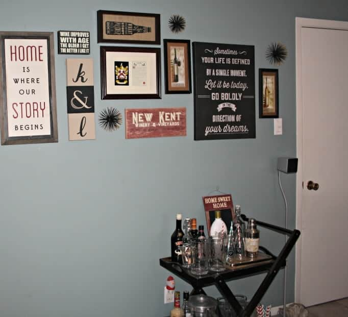 Home Gallery wall