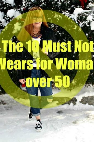 The 10 things Not to Wear after Age 50