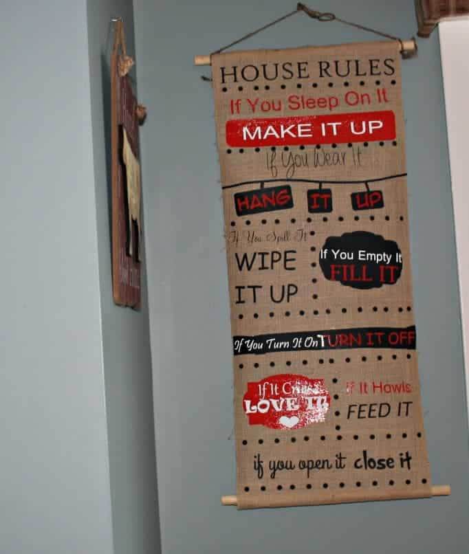 The House Rules we all should follow