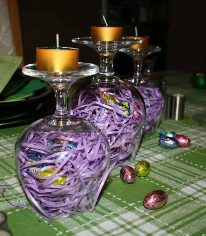 Birds Nest Easter Centerpiece