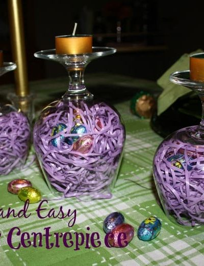 Quick and Easy Easter Centrepiece