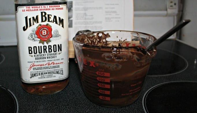 Jim Beam in Chocolate Bourbon Mousse