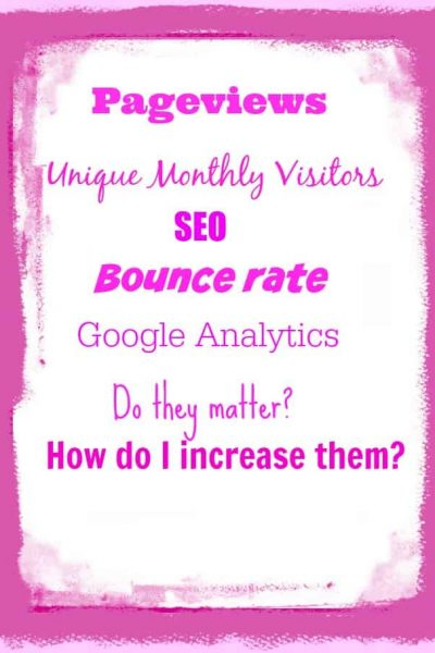 Pageviews, UMV, Analytics, it all sucks or Does it?