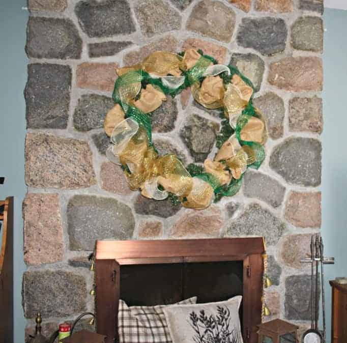 Easter Decomesh wreath, start