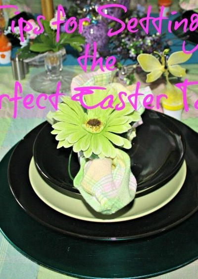 Easter Decor and Easter Tablescape