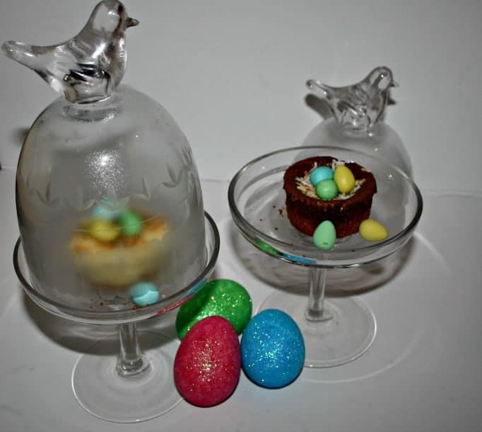 Birds Nest Easter Cheesecake