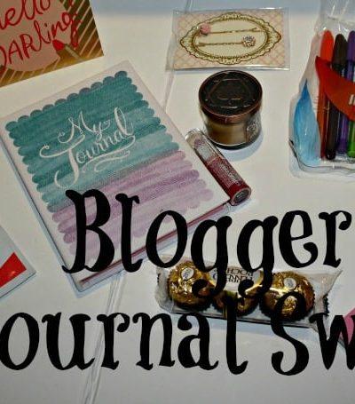 Blogger Journal Swap