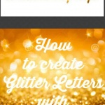 picmonkey and glitter letters