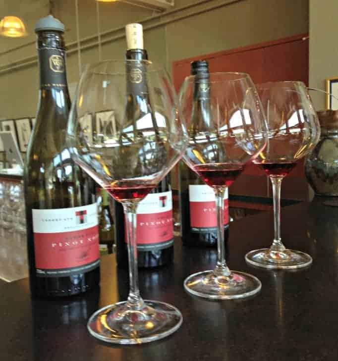 Tawse Winery, a sampling of Pinot Noirs
