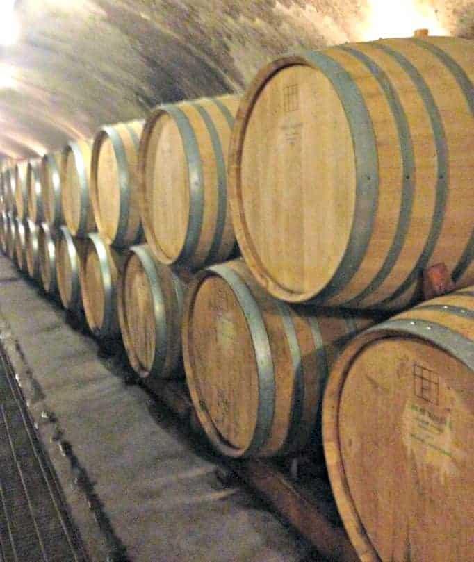 Tawse Winery, wine in barrels