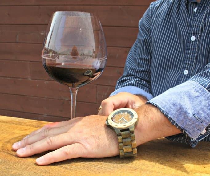 Jord Watch and Haggar shirt