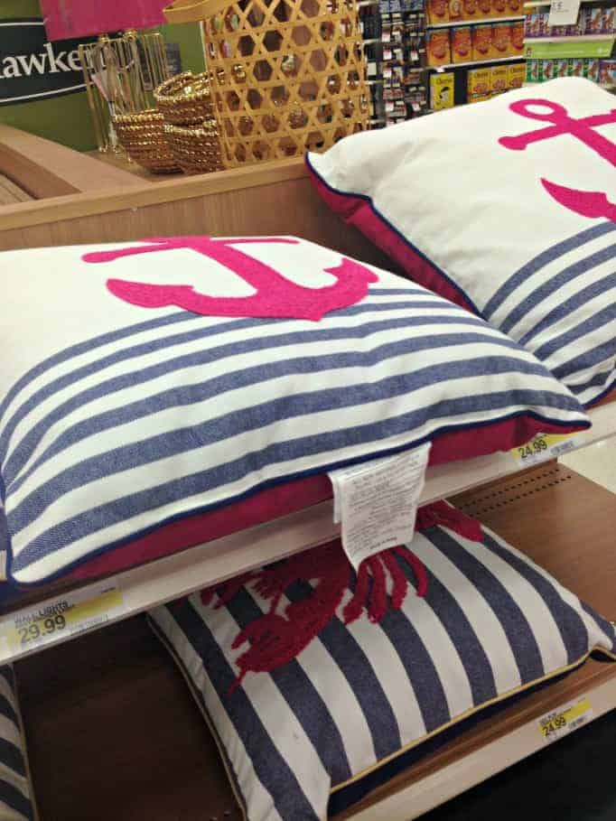 Target anchor pillows