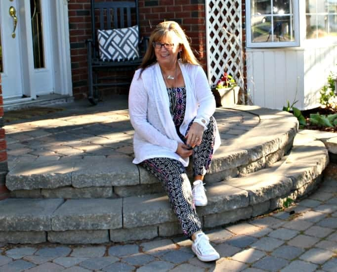 Tribal Jumpsuit, converse and lace cardigan