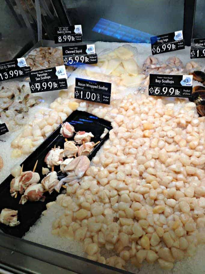 price chopper scallops