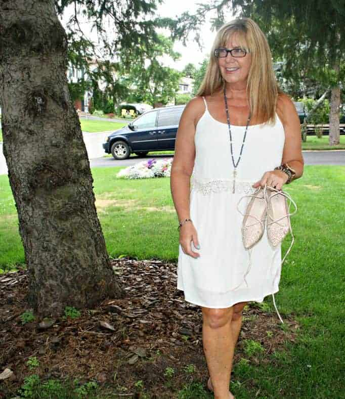 Forever 21 Dress with crochet trim