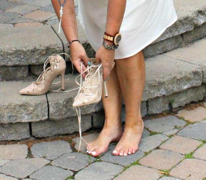 jord watch and Shein Heels