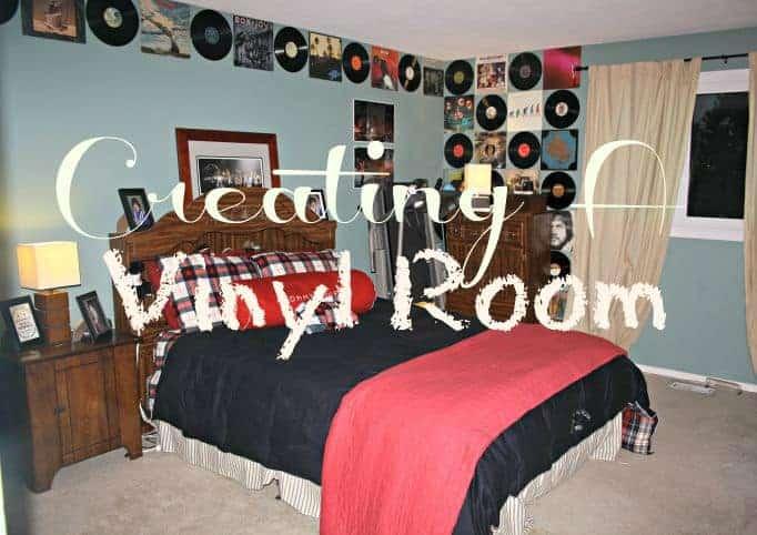creating a vinyl room