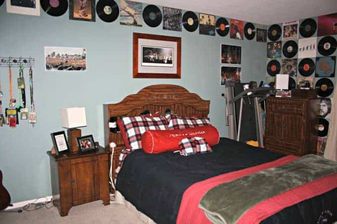 album room for a musician