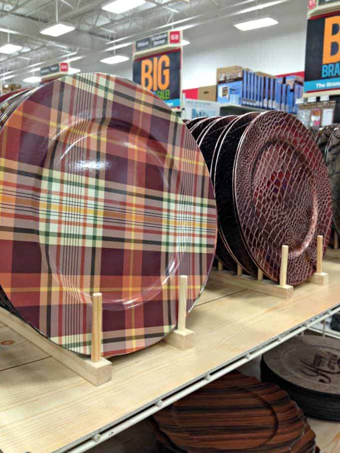 plaid chargers