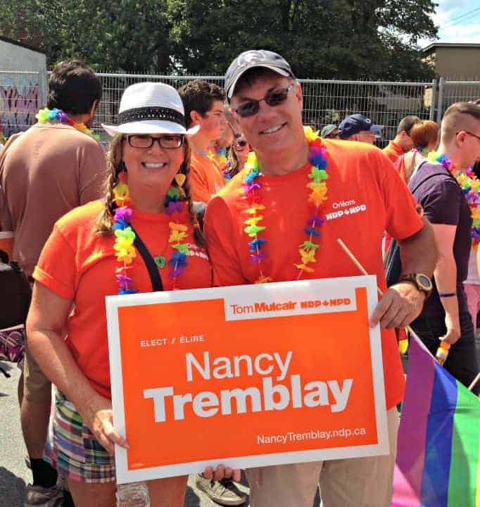 Pride Parade with the NDP