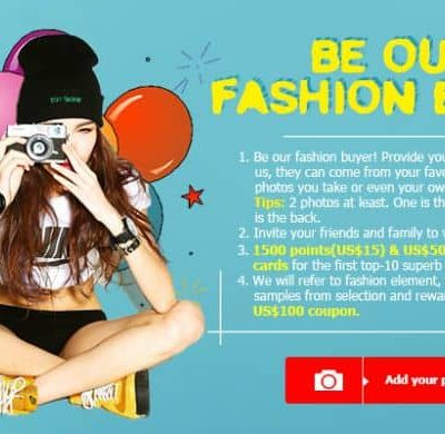 Be our Fashion Buyer with Shein