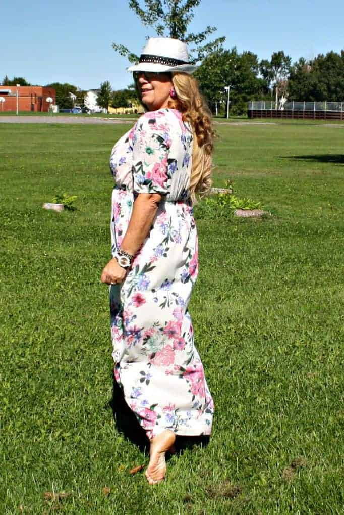 kate spade watch and a maxi