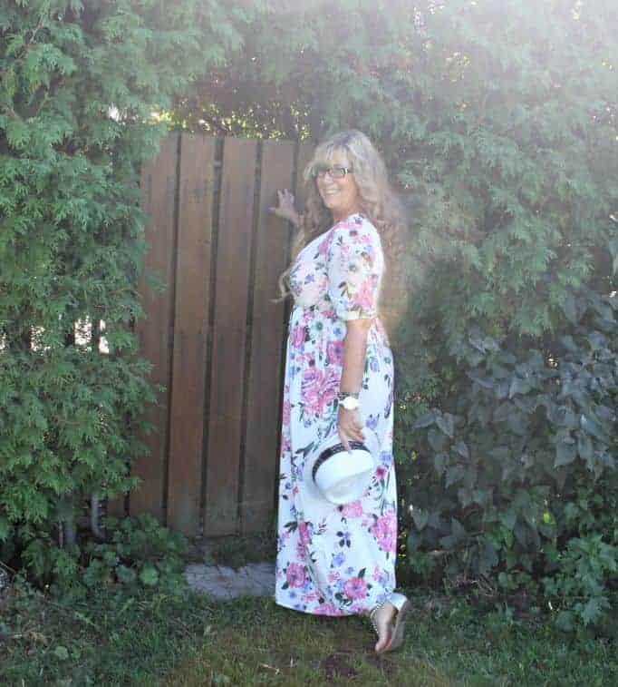 Walk Trendy Floral maxi