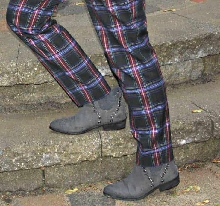 Forever 21 Grey Grommet boots