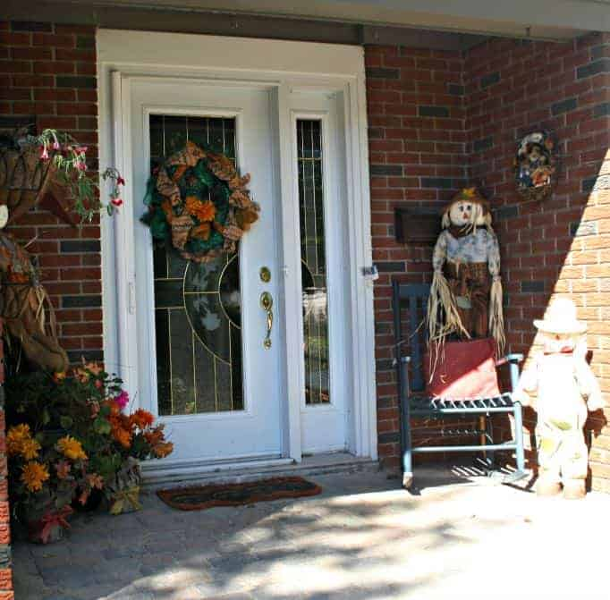 Front Entryway for fall