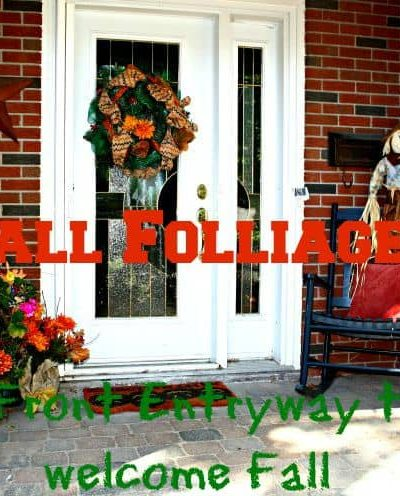Fall ready Front Door