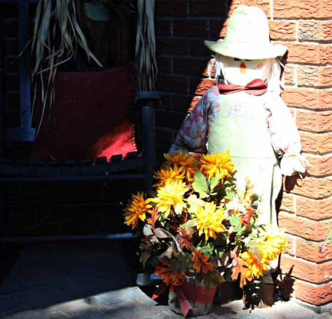 Scarecrow for fall