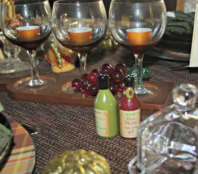 wine salt and pepper shakers
