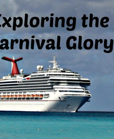 Exploring Carnival Cruise: Carnival Glory and a trip around the deck