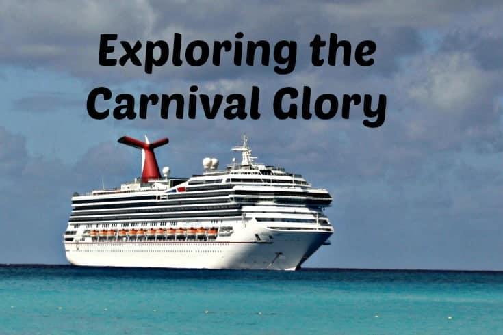 exploring the Carnival Glory