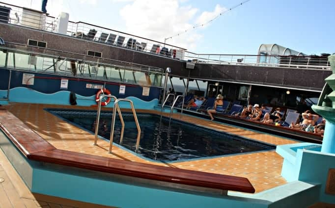 adults pool on the Carnival Glory