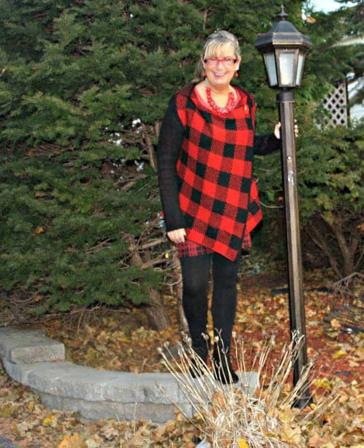 fun with plaid in the fall