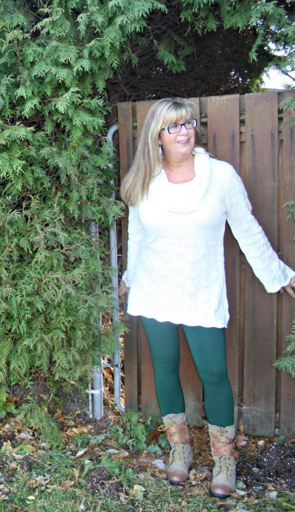 Hudsons Bay Company Tunic and Giant Tiger Boots
