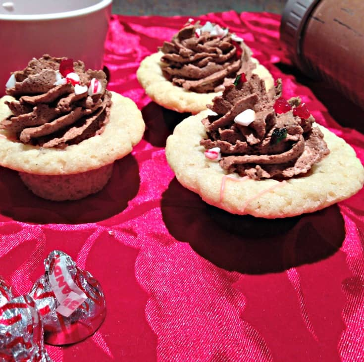 Candy Can Sugar Cookie Cups with Chocolate Mousse 2