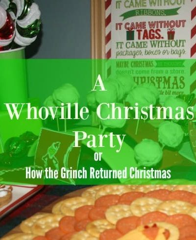 A Whoville Christmas Party with Free Printables